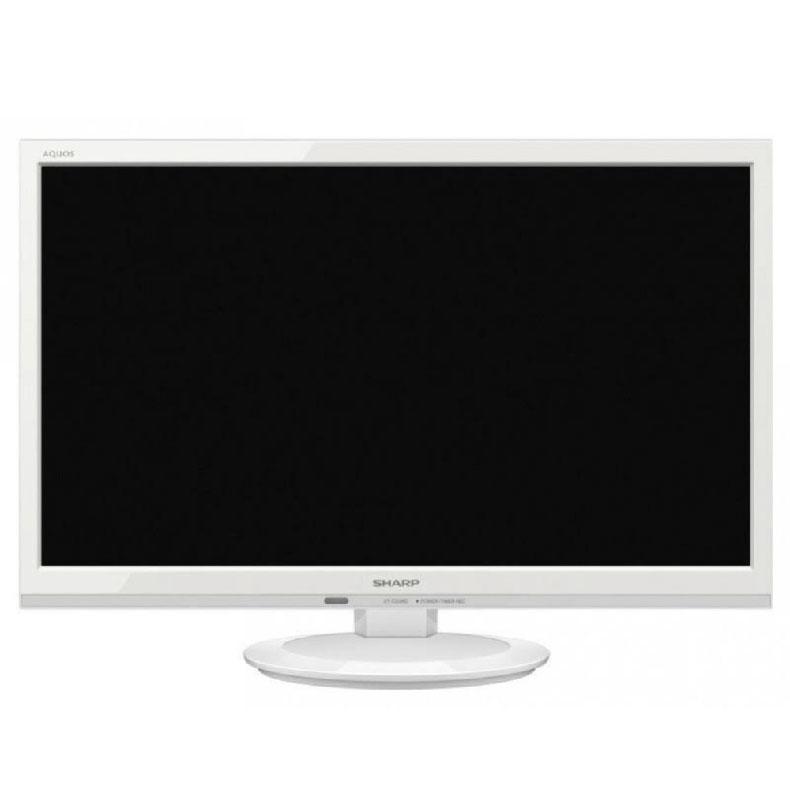 液晶テレビ シャープ 2T-C22AD ホワイト 22V型 AQUOS 裏番組録画対応 簡単サクッと検索 2画面表示対応 フルスペックハイビジョンパネル LEDバックライト