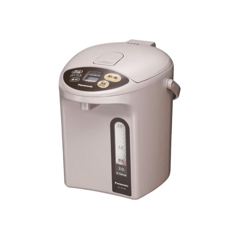 マイコン沸騰ジャーポット 電気ポット パナソニック Panasonic NC-BJ304 ベージュ 3.0L 真空断熱材 U-Vacua ユーバキュア お好み温調 カフェ給湯 2段階給湯 クエン酸洗浄 省エネ
