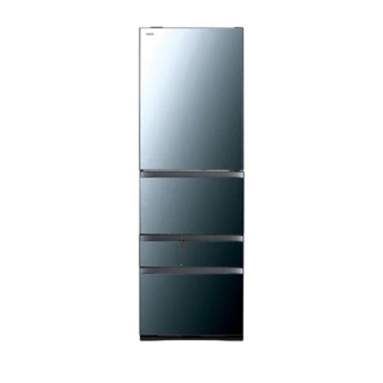 【送料・標準設置費用】東芝 TOSHIBA GR-R500GW(XK) 冷蔵庫 501L・右開き 5ドア VEGETA ベジータ クリアミラー 大容量 摘みたて野菜室 ミストチャージユニット 速鮮モード 解凍モード タッチオープンドア 自動節電機能