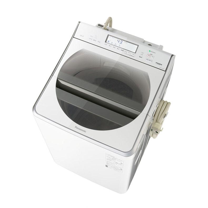 【標準設置込・送料無料】パナソニック Panasonic NA-FA120V2-W 全自動洗濯機 12.0kg 上開き ホワイト インバーターモーター搭載 エコナビ