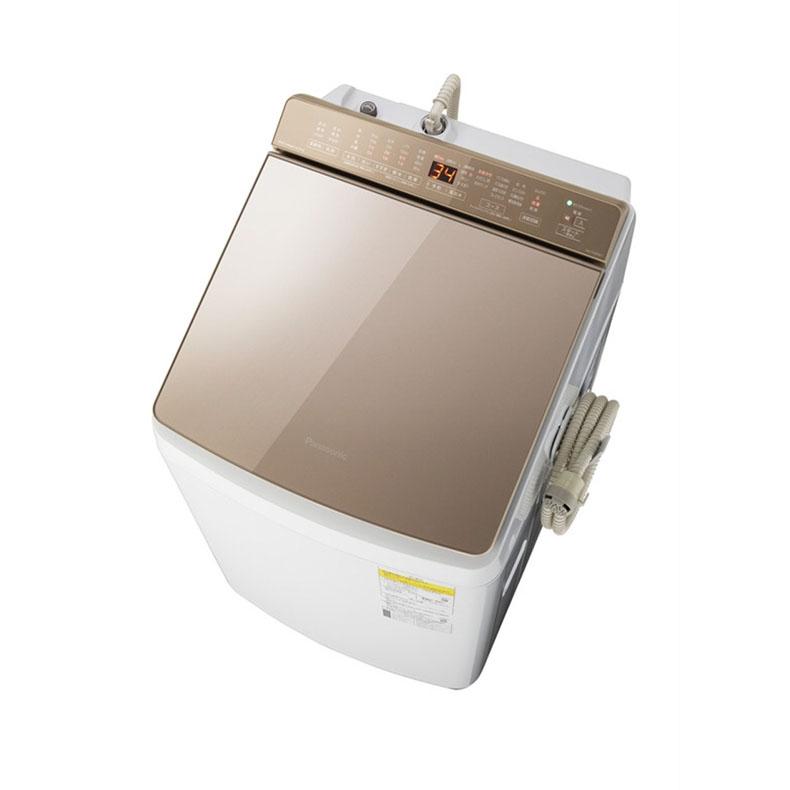 パナソニック Panasonic NA-FW90K7-T 縦型洗濯乾燥機 ブラウン 自動投入新搭載 泡洗浄 洗濯9.0kg 乾燥4.5kg 泡洗浄&パワフル立体水流
