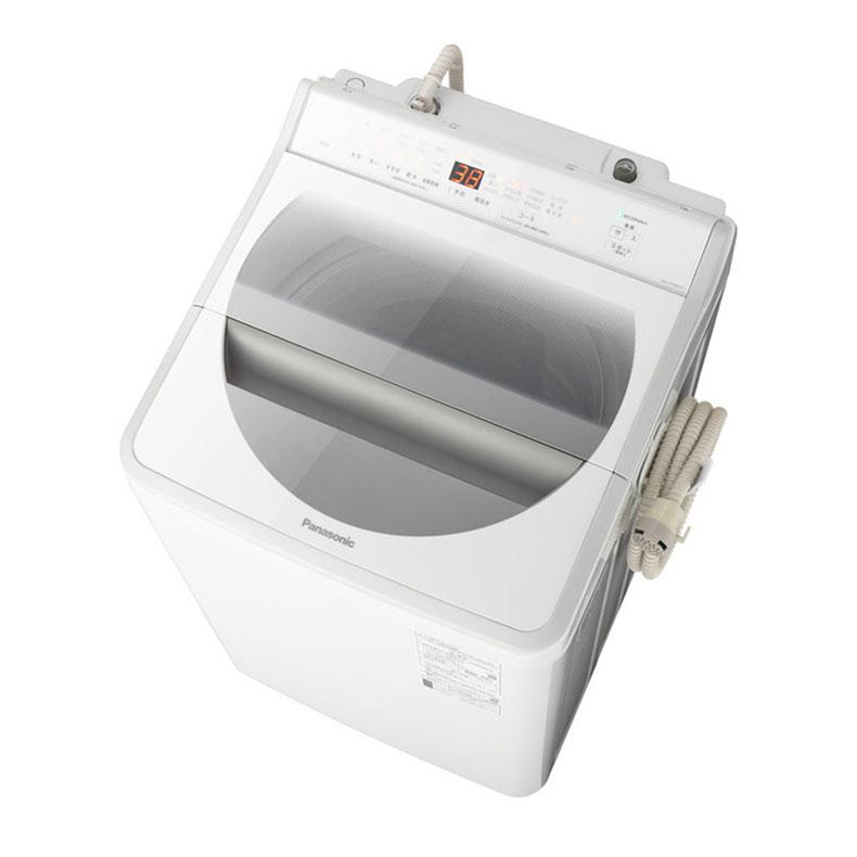【標準設置込・送料無料】パナソニック Panasonic NA-FA90H7-W 全自動洗濯機 9.0kg 上開き ホワイト インバーターモーター搭載 BIGサークル投入口 エコナビ