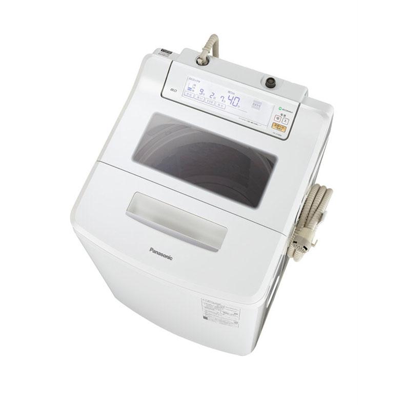 パナソニック Panasonic NA-JFA806-W 全自動洗濯機 すぐソコスタイル クリスタルホワイト 洗濯8.0kg 風乾燥 すぐソコスタイル ホワイト