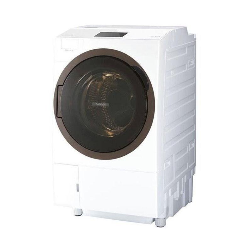 【送料無料・標準設置込】 ドラム式洗濯乾燥機 洗濯機 東芝 TOSHIBA TW-127X8R グランホワイト ZABOON 左開き 温水後期ウルトラファインバブル洗浄W 液体洗剤 柔軟剤 自動投入 ドラム式