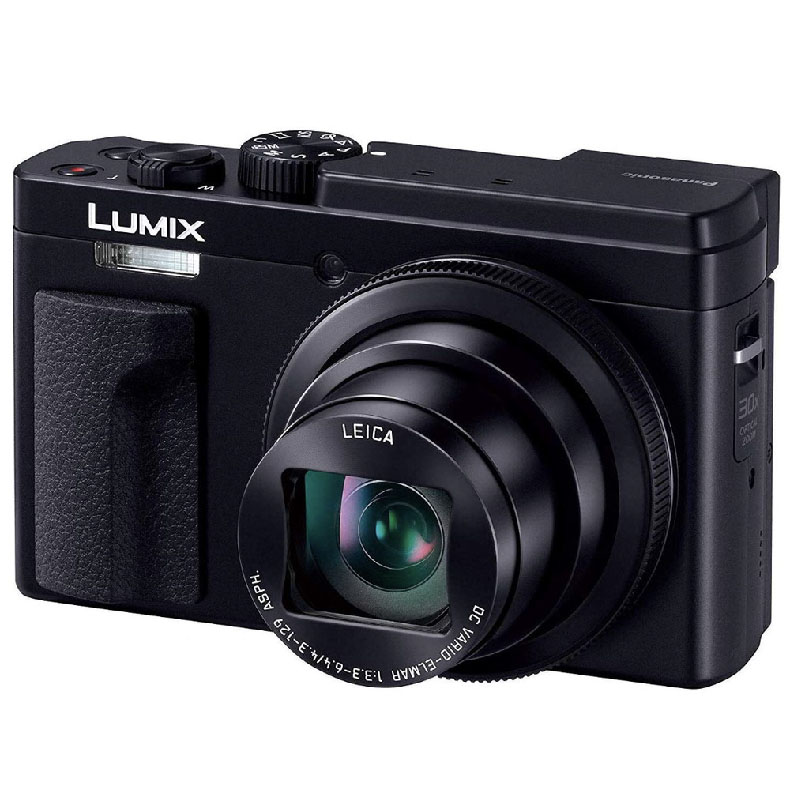 コンパクトカメラ デジタルカメラ パナソニック Panasonic DC-TZ95 ブラック LUMIX 高精細ファインダー 180度チルト対応 タッチパネルモニター 光学30倍ズーム