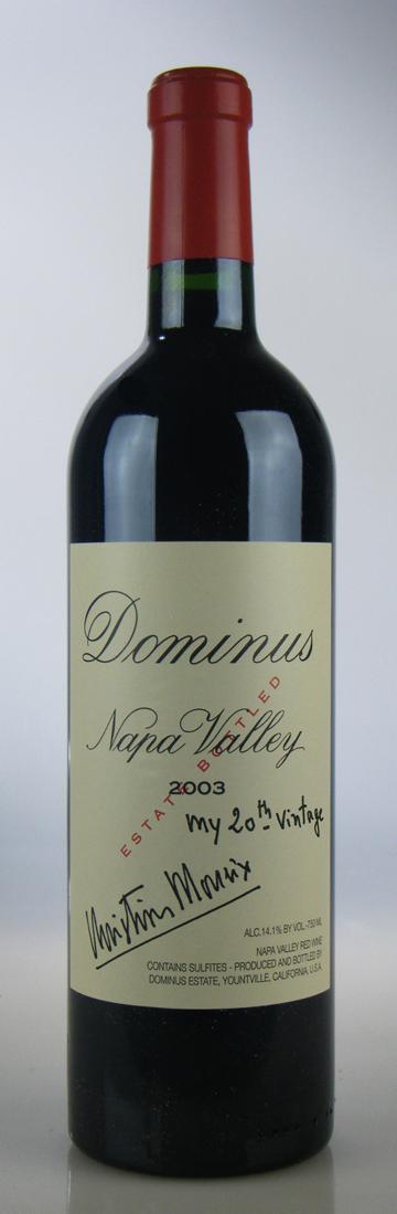 Dominus Proprietary Red Wine [2003] / ドミナス・プロプライエタリー・レッドワイン [US][WA95][赤][26]