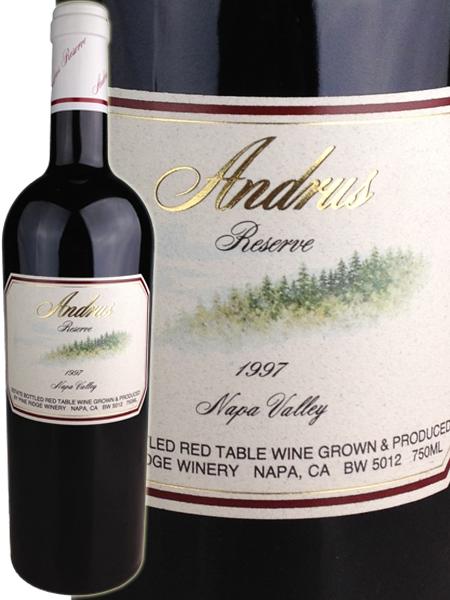 Pine Ridge Andrus Reserve Proprietary Red Wine [1997] / パイン・リッジ アンドラス・リザーヴ [US][赤][28]