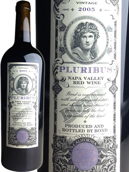 Bond Pluribus Proprietary Red Wine [2005] / ボンド プロプライアタリー・レッド プルリブス [US][WA98][赤][6u]