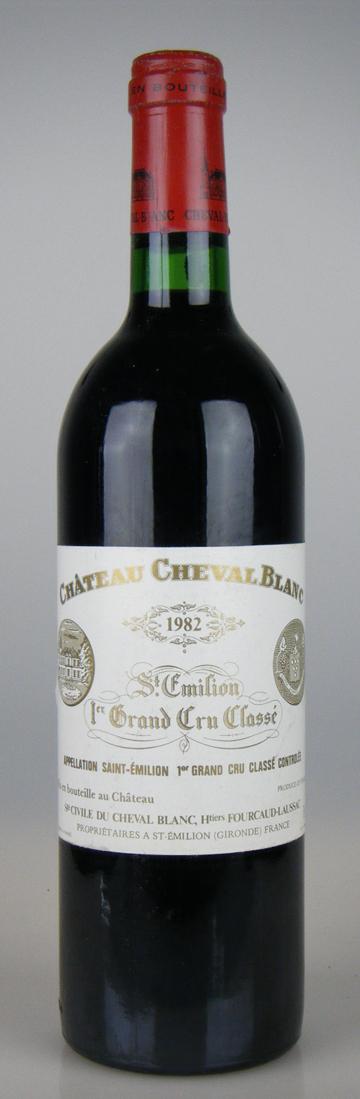 Chateau Cheval Blanc [1982] / シャトー シュヴァル・ブラン [FR][WA92][赤][29]