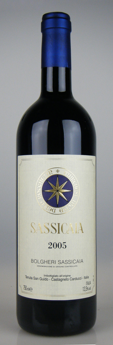 Tenuta San Guido Sassicaia [2005] / サッシカイア [IT][WA93][赤]