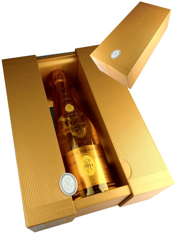 Louis Roederer Cristal [2004] (正規品:PREMIUM BOX入) / ルイ・ロデレール クリスタル [FR][WA97][白泡][13]