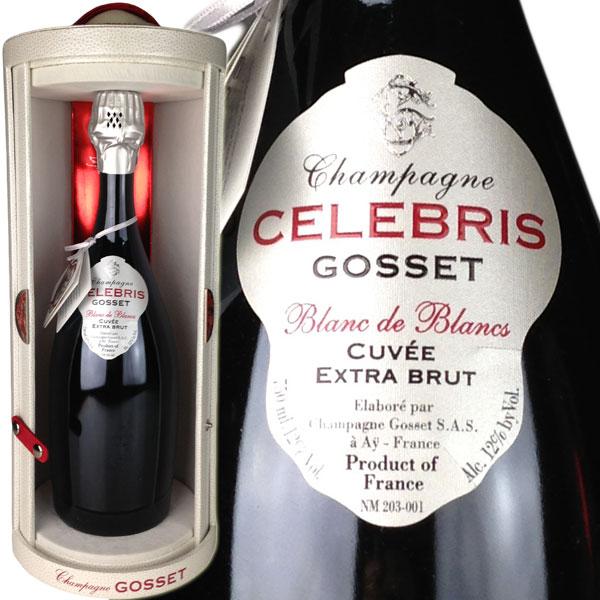 Gosset Celebris Blanc de Blancs Extra Brut [NV] / ゴッセ セレブリス ブラン・ド・ブラン エクストラ・ブリュット [FR][WA94][白泡]