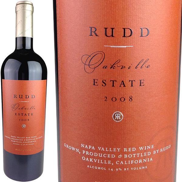 Rudd Oakville Estate Red [2008] / ラッド オークヴィル エステート・レッド [US][WA99][赤][5]