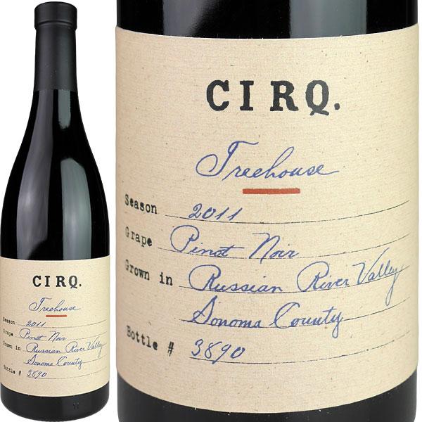 CIRQ. Treehouse Vineyards Russian Pinot Noir River Valley [2011] / サーク ピノノワール ツリーハウス ロシアン・リヴァー・ヴァレー [US][赤]