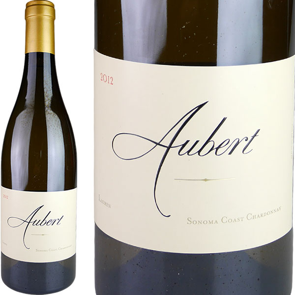 Aubert Chardonnay Lauren Vineyard [2012] / オーベール シャルドネ ローレン ヴィンヤード [US][WAMAX][白]