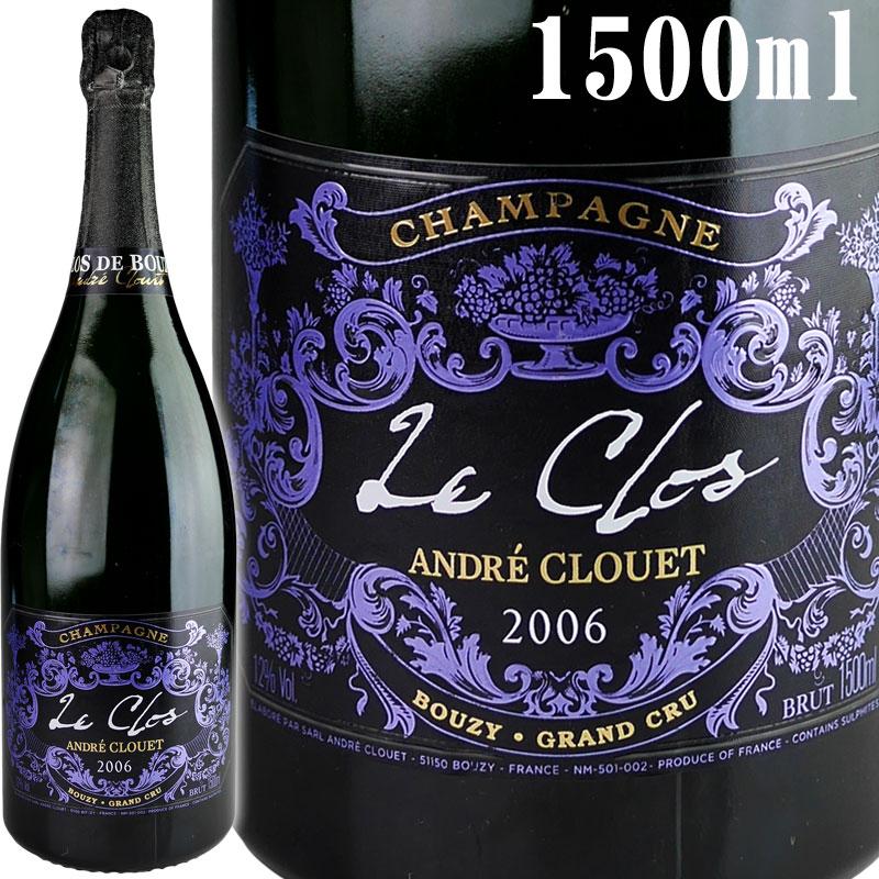 Andre Clouet Le Clos [2006] 【正規品/木箱入・マグナムサイズ 1500ml】 / アンドレ・クルエ ル・クロ [FR][白泡]