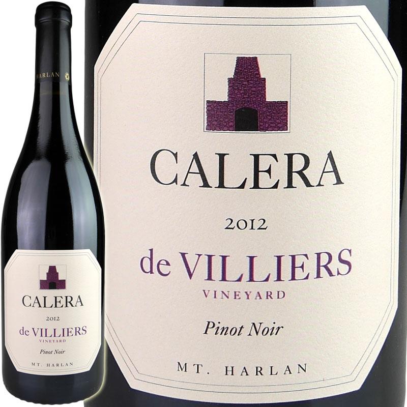 CALERA (Estate Wine) Pinot Noir de Villiers [2012] / カレラ ピノノワール ド ヴィリエ [US][WA95][赤]