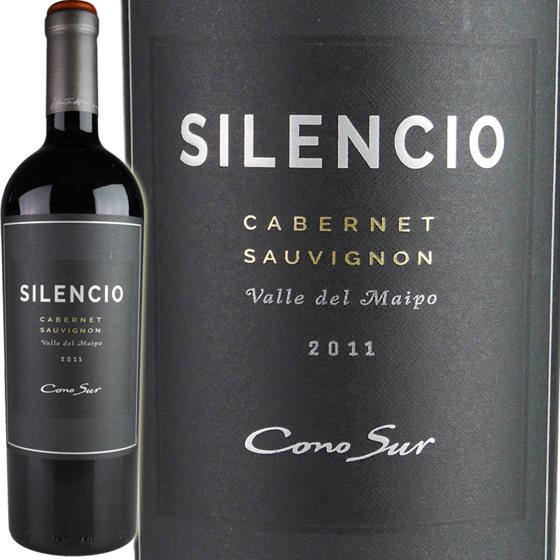 Cono Sur Silencio Cabernet Sauvignon コノスル [2011] Cabernet【1本木箱入】/ [2011] コノスル シレンシオ カベルネ・ソーヴィニヨン [CL][WA93][赤], 千々石町:6ab7598d --- pixpopuli.com