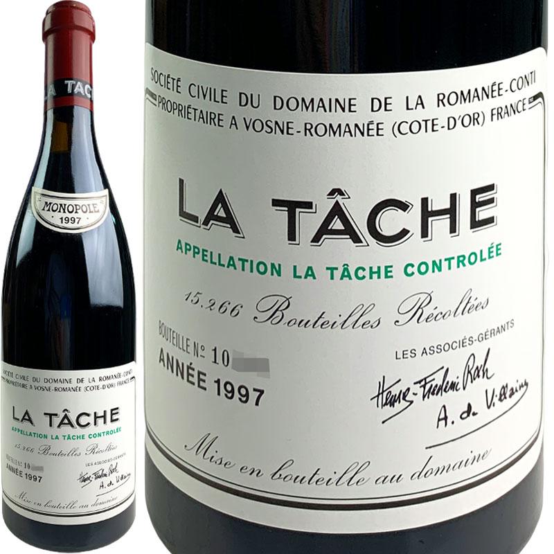 Domaine de la Romanee-Conti La Tache Grand Cru [1997] / ドメーヌ・ド・ラ ロマネ・コンティ ラ・ターシュ [FR][赤][WA93]