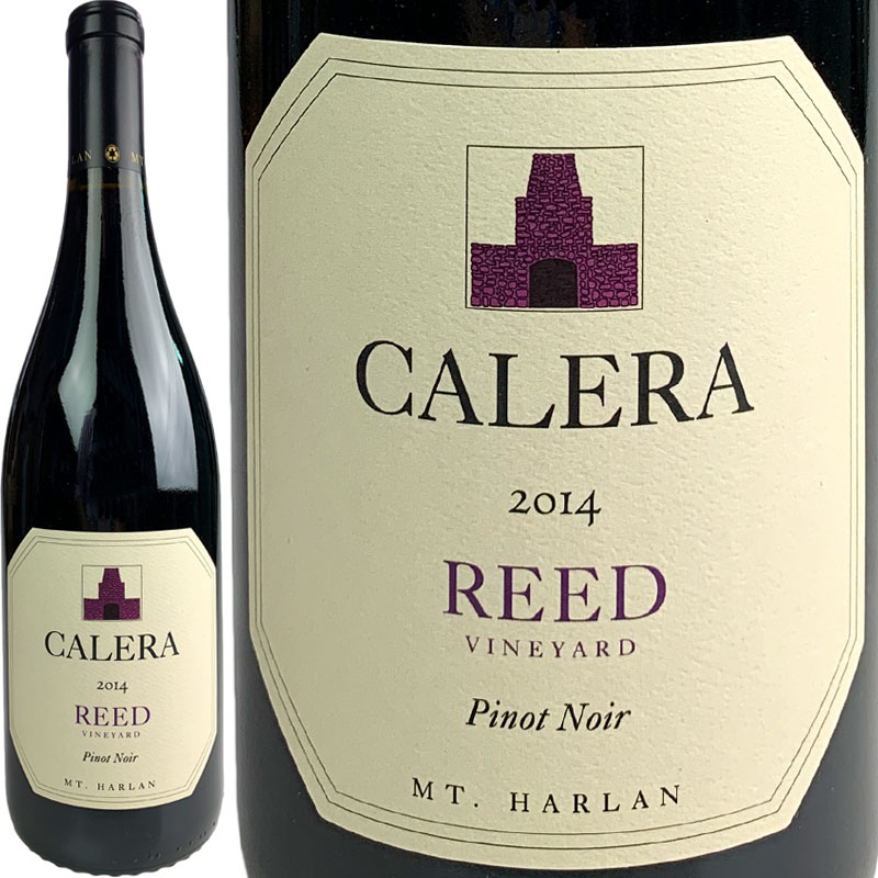 Calera Pinot Noir Reed [2014] / カレラ ピノ・ノワール リード [US][赤]