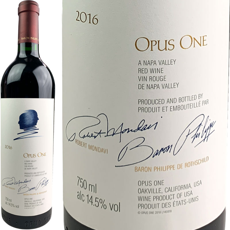 Opus One Proprietary Red Wine [2016] / オーパス・ワン [US][赤][WA98]