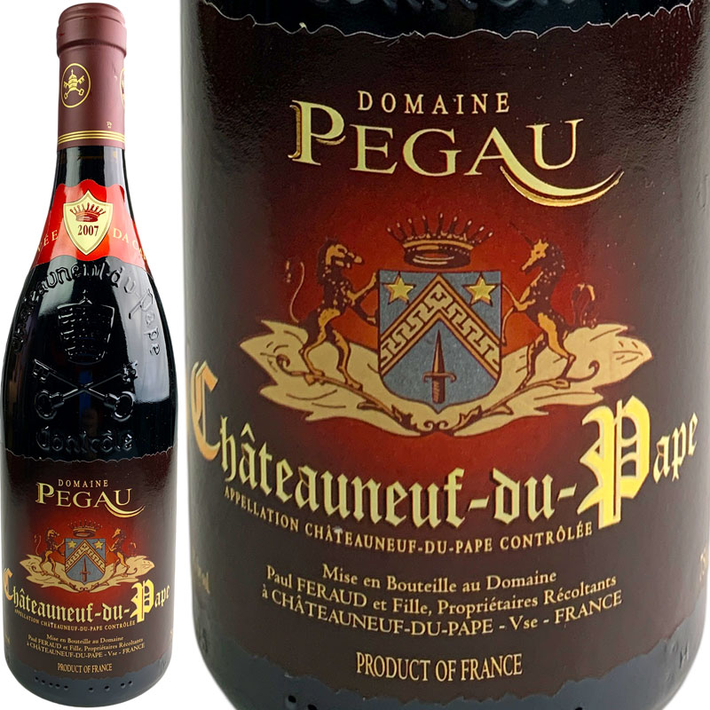 Domaine du Pegau Chateauneuf du Pape Cuvee da Capo [2007] / ドメーヌ ペゴー シャトーヌフ デュ パプ キュヴェ ダ カーポ [FR][赤][WAMAX]