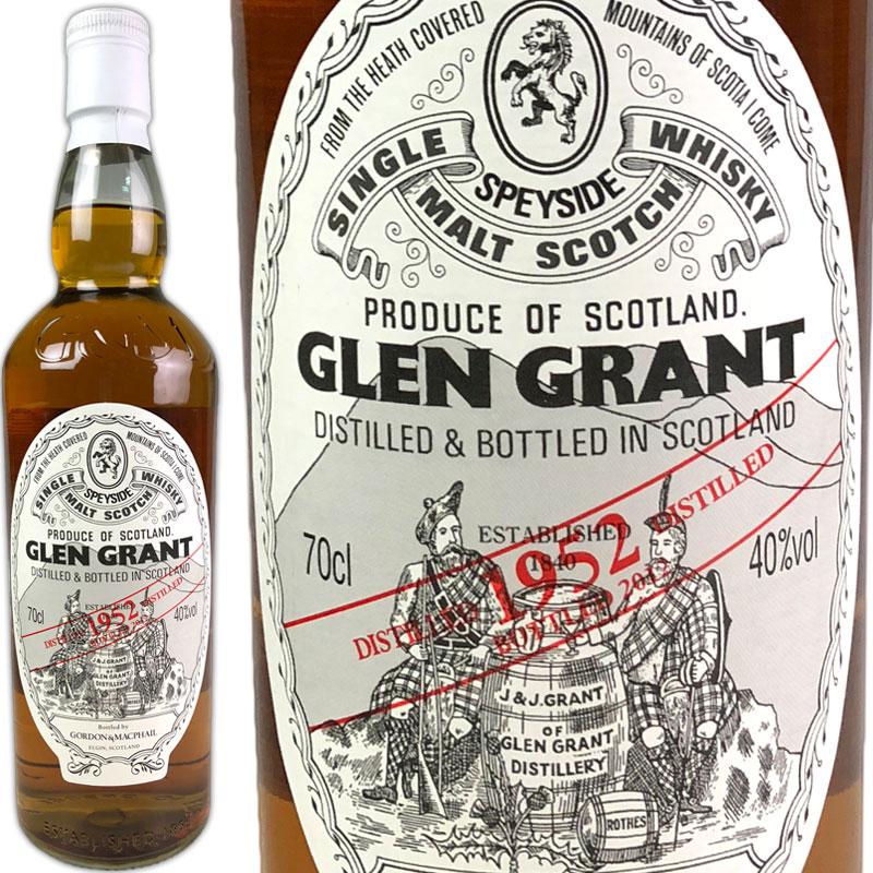 Gordon & MacPhail Glen Grant 60 yo Rare Vintage [1952] / ゴードン&マクファイル グレングラント レアビンテージ 60年 [SW]