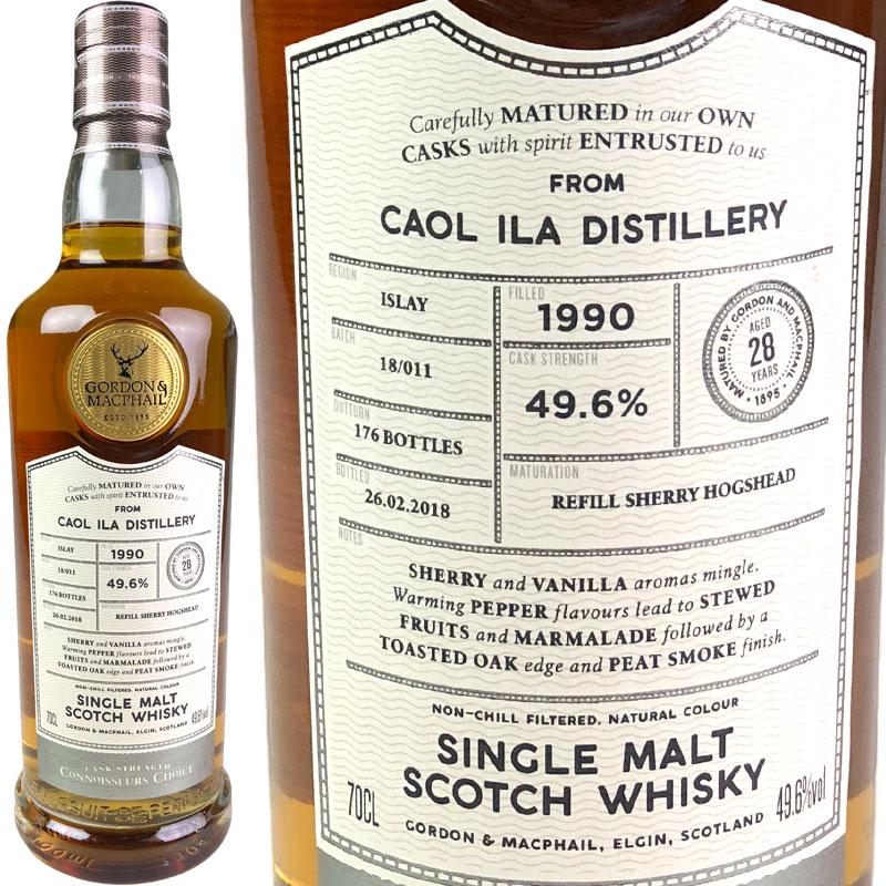 Gordon & MacPhail Connoisseurs Choice Caol Ila 28 yo [1990] / ゴードン&マクファイル コニサーズチョイス カリラ 28年