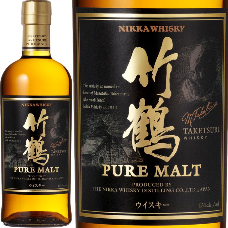 Nikka Taketsuru Pure Malt / ニッカ 竹鶴 ピュアモルト [JW]