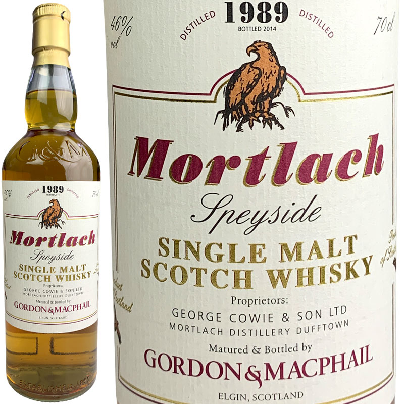 Gordon & MacPhail Mortlach Single Cask for JIS [1989] / ゴードン&マクファイル モートラック シングルカスク FOR JIS [SW]