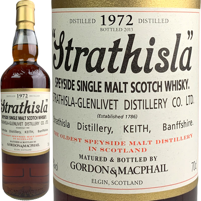 Gordon & MacPhail Strathisla Rare Vintage [1972] / ゴードン&マクファイル ストラスアイラ レアビンテージ [SW]