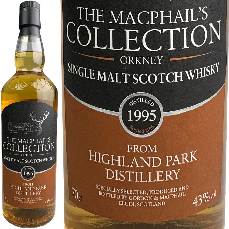Gordon & MacPhail MacPhail's Collection Highland Park FOR JIS [1995] / ゴードン&マクファイル マクファイルズ・コレクション ハイランドパーク FOR JIS [SW]