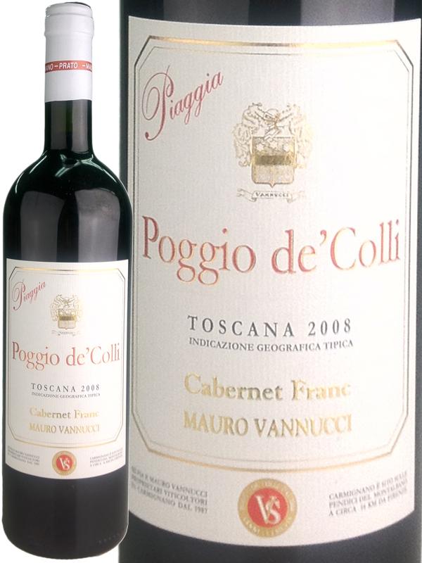 Piaggia Poggio de' Colli [2008] / ピアッジャ ポッジョ・デ・コッリ [IT][WA90][赤][7]