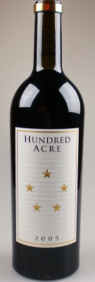 Hundred Acre Vineyard Cabernet Sauvignon Kayli Morgan Vineyard Napa Valley [2005] / ハンドレッド・エーカー カベルネ・ソーヴィニョン カイリー・モーガン・ヴィンヤード ナパ・ヴァレー [US][WA98][赤]