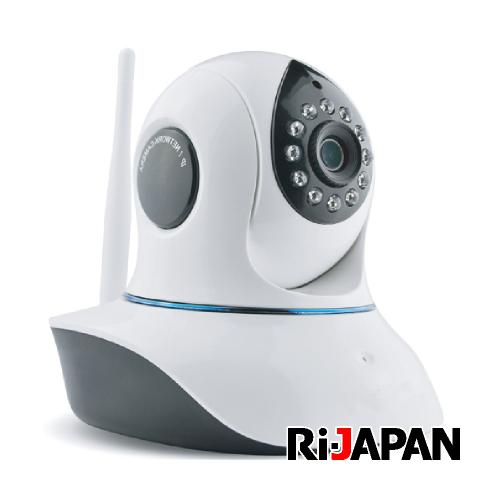 防犯カメラ 多彩な機能の高性能IPネットワークカメラ 小型 防犯 監視 見守り スマホやタブレットで、いつでもどこからでも気になる場所を確認できる! RCC-9801CSN