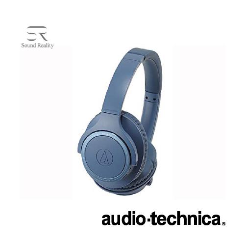 ヘッドホン Bluetooth対応ヘッドセット 最大70時間 ブルー ATH-SR30BT BL audio-technica オーディオテクニカ