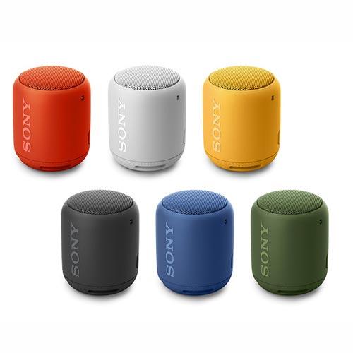 SONY ソニー / 防水 ワイヤレスポータブル スピーカー / フルレンジスピーカーユニット搭載 / Bluetooth対応 / グレイッシュホワイト[SRS-XB10WC]