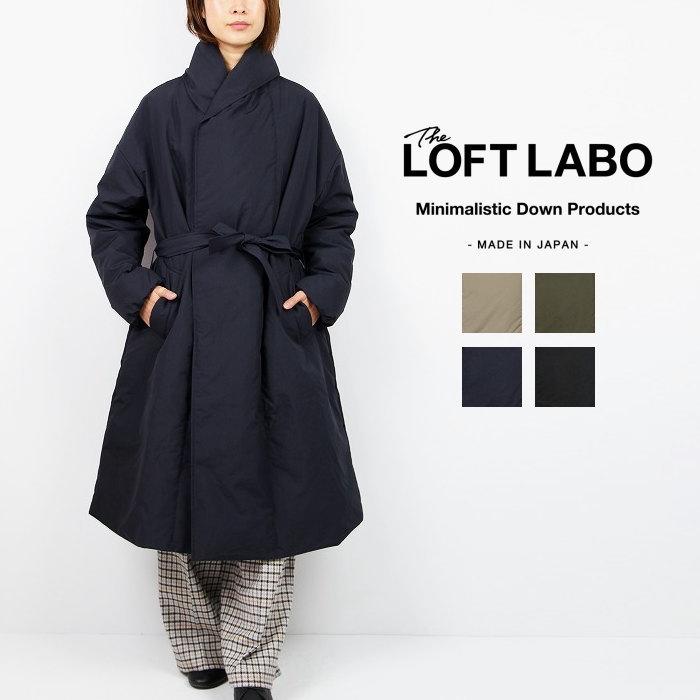 The Loft Labo ロフトラボショールカラーダブルダウンコート