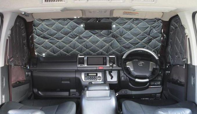 NV350キャラバン2/4WD用[標準ボディ]Rimサーモプロテクター【フロント3点セット】■代引不可■