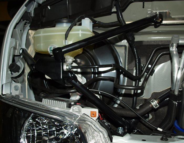 200系ハイエース標準ボディ用 RimxSwiftマスターシリンダーストッパー ※ワイドボディ不可