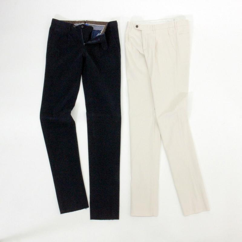 Fall&WinterMODEL RJP-05RING JACKET リングヂャケットOnepleats Cotton Pantsワンプリーツコットンパンツ【ネイビー・ホワイト】