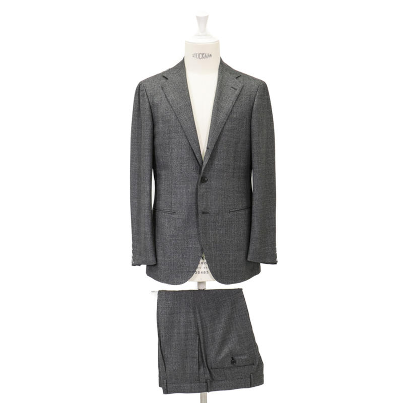 RING JACKET リングヂャケットModel No-253H S-172HDORMEUIL3Bスーツ【グレー】
