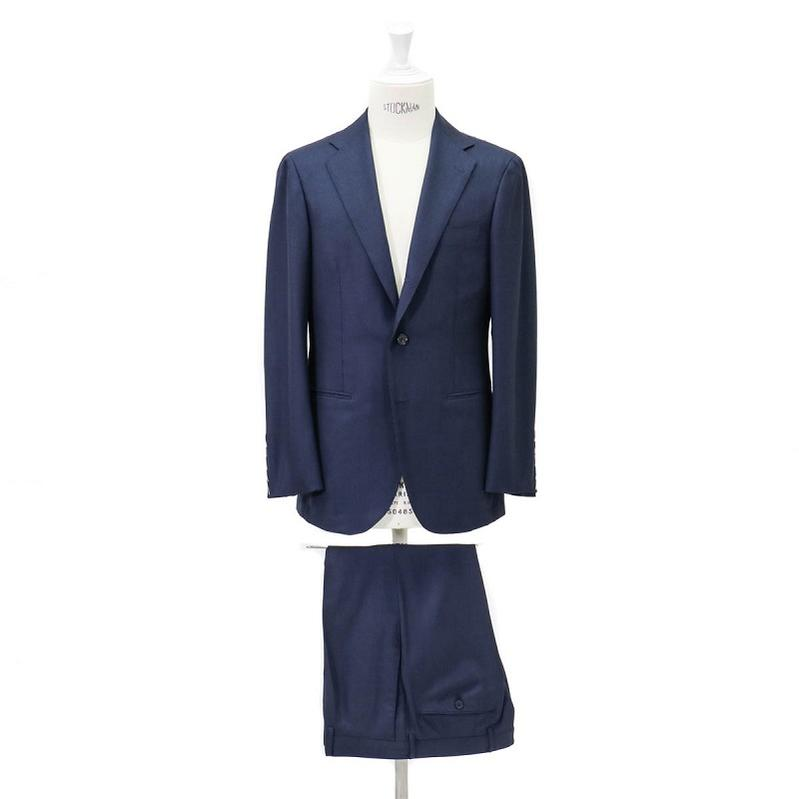 RING JACKET リングヂャケットModel No-253H S-172HDORMEUIL3Bスーツ【ネイビー】