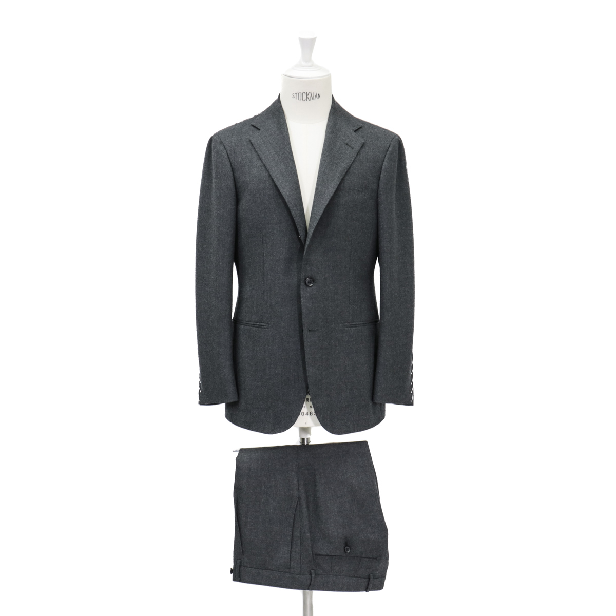 RING JACKET リングヂャケットModel No-253EH S-172HARTHUR HARRISON3Bスーツ【グレー】