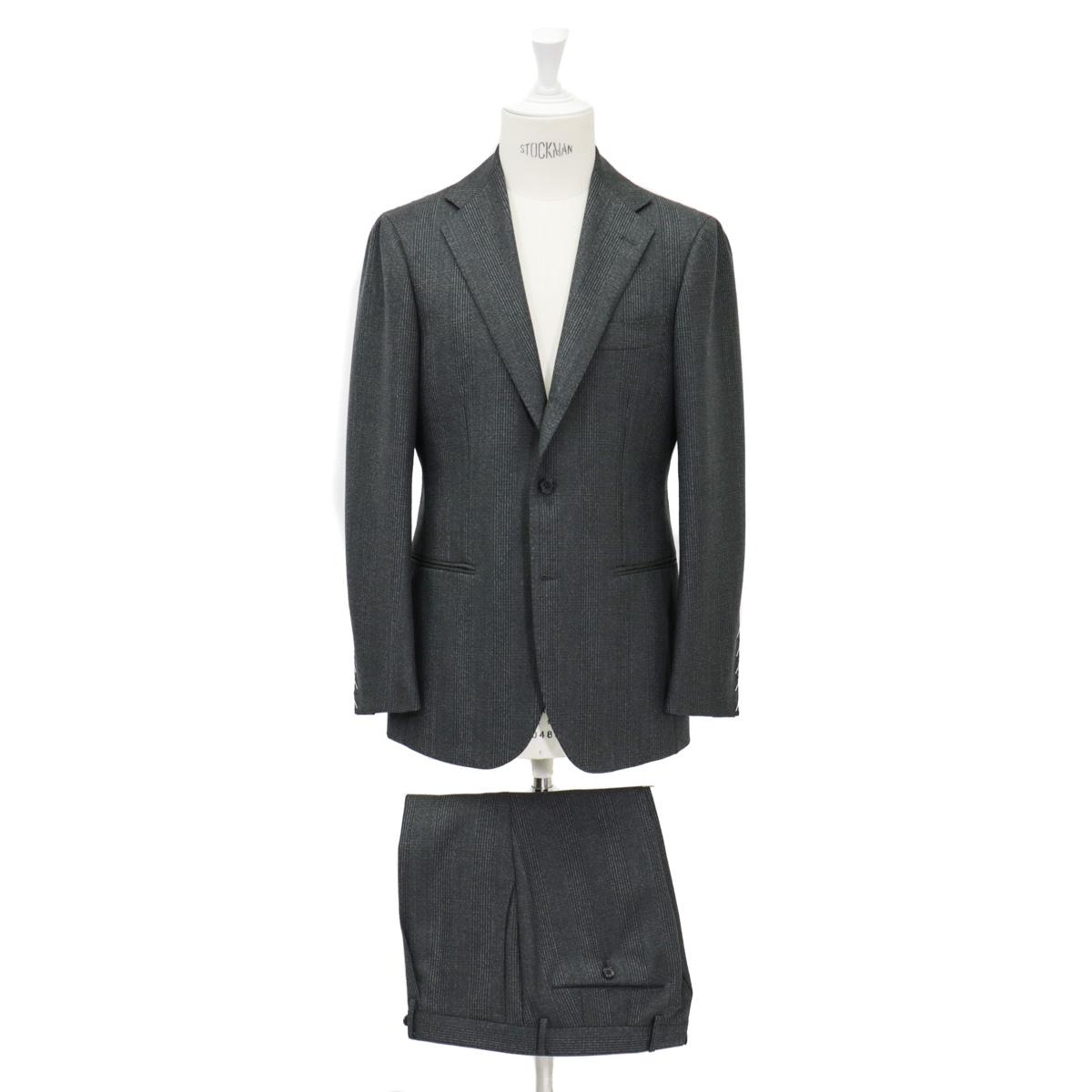 RING JACKET リングヂャケットModel No-253EH S-172HKYNOCH3Bスーツ【グリーン】
