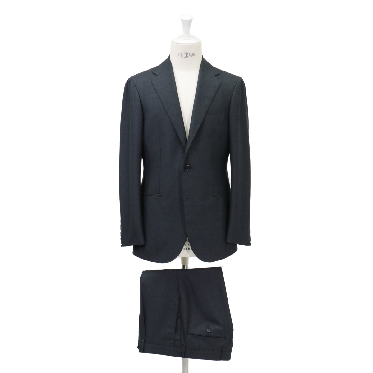 RING JACKET リングヂャケットModel No-253EH S-172HDORMEUIL3Bスーツ【ネイビー】