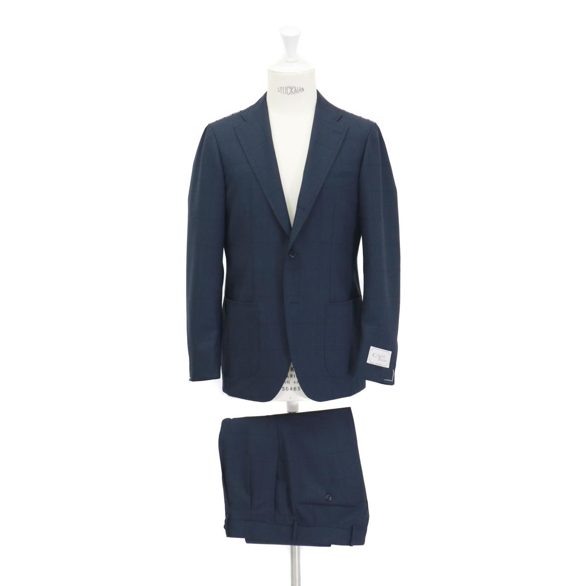 RING JACKET リングヂャケットModel No-278F S-178CALM TWIST3Bスーツ【ネイビー】