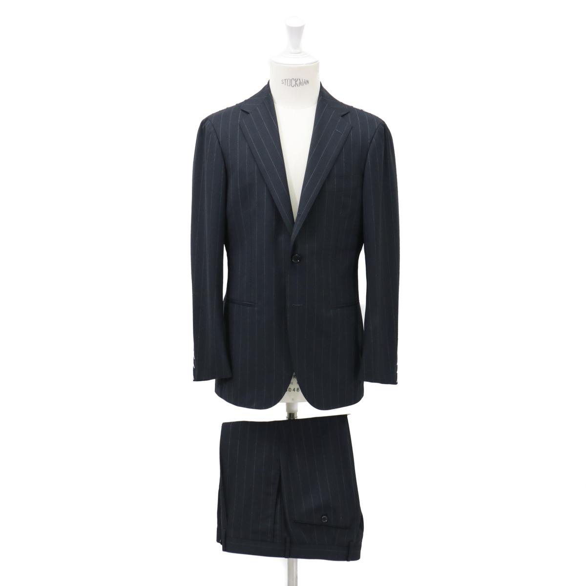 JACKET No-253EH TWIST3Bスーツ【ストライプ・ネイビー】 リングヂャケットModel S-172HHIGH RING