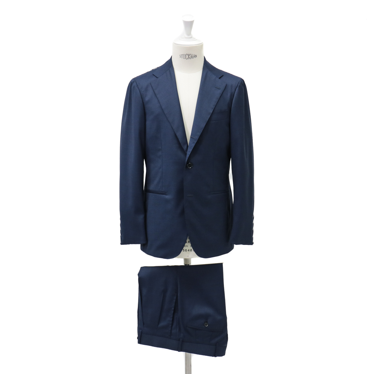 RING JACKET リングヂャケットModel No-269EH S-178HLORO PIANA3Bスーツ【無地・ネイビー】
