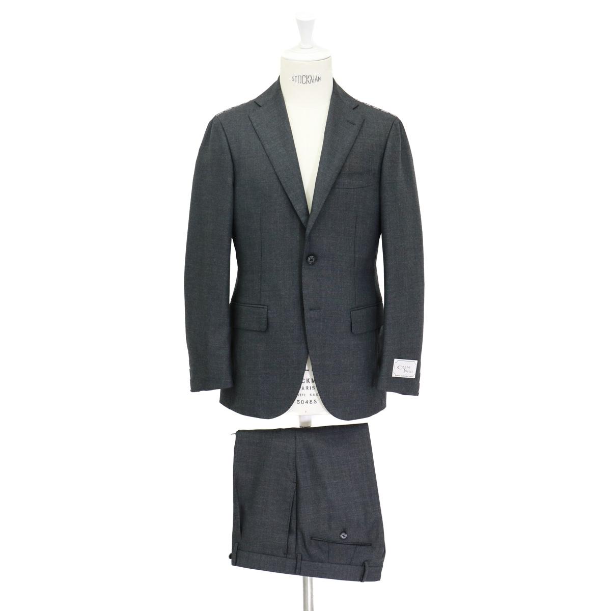 RING JACKET リングヂャケットModel No-184AH S-172HCALM TWISTスーツ【チャコールグレ―】